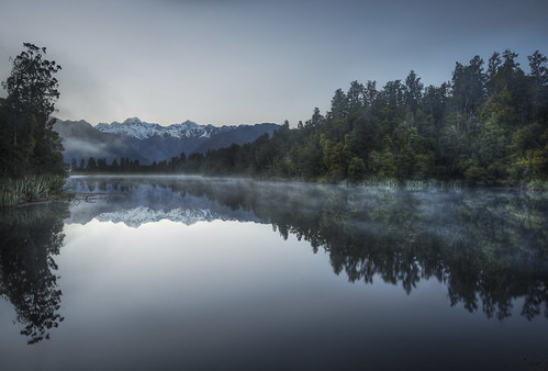 Lake Matheson in New Zealand | by Jacob Surland