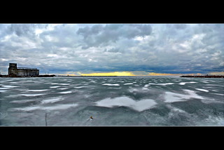 Lake Erie Ice Panorama Version | by kroess.photo.