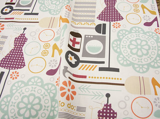 Women do it all by addilou | by Spoonflower Fabrics