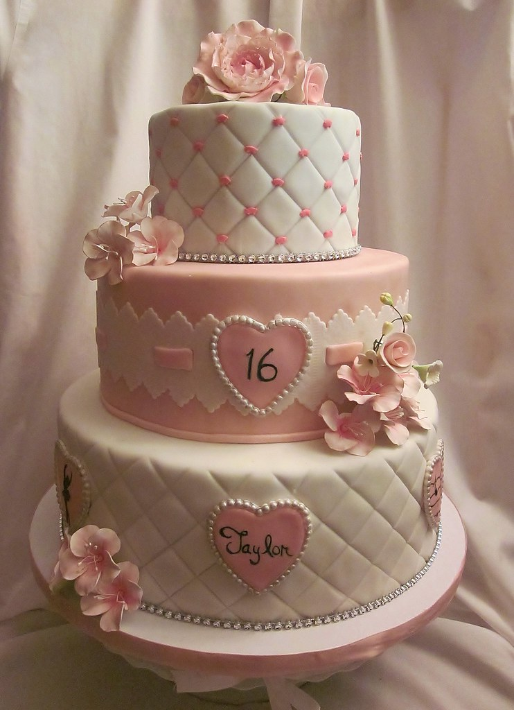 Sweet Sixteen Birthday Cake Ideas