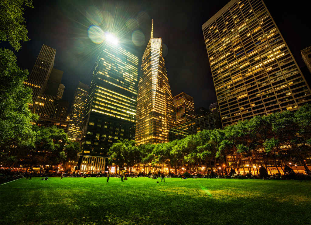 Bryant Park in New York City | This is where I ended my ...