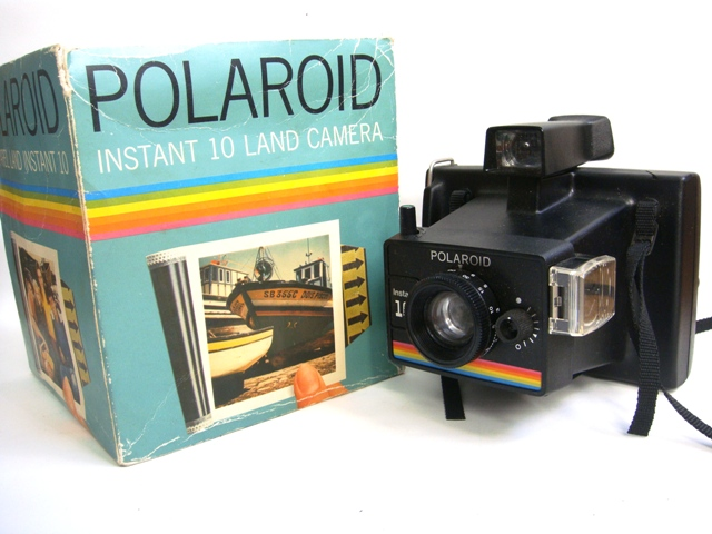 polaroid instant 10 land camera with the original box for flickr. Black Bedroom Furniture Sets. Home Design Ideas