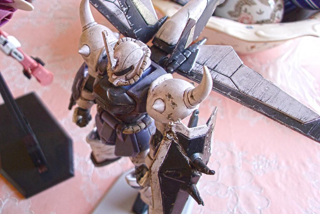 1/144 Gouf Ignited (Yzak Joule custom) | Flickr - Photo Sharing!
