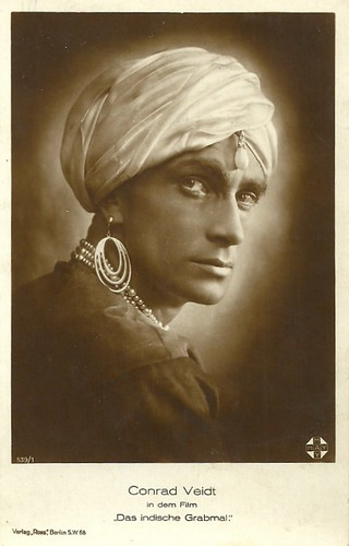 Conrad Veidt in Das indische Grabmal