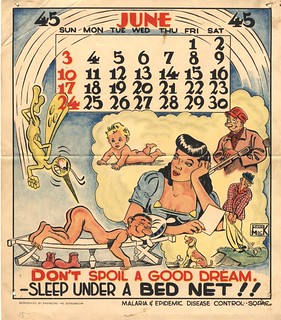 Don't spoil a good dream sleep under a bed net | by National Library of Medicine - History of Medicine