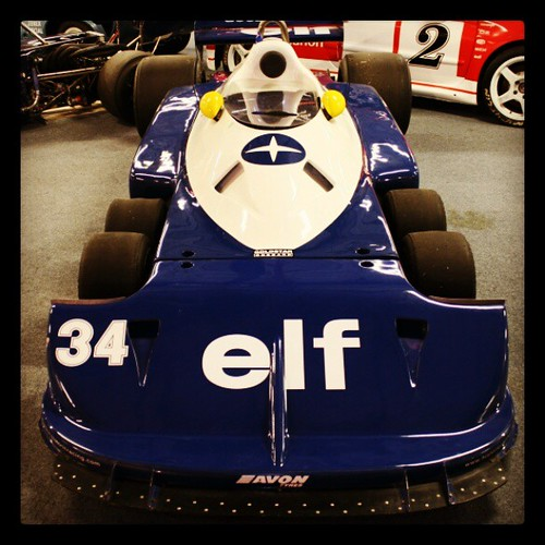 Tyrell 6 Wheeled F1 Car @ Coventry Transport Museum. @CovT