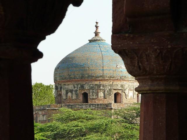 Alrededores de la Tumba de Humayun (Delhi, India)