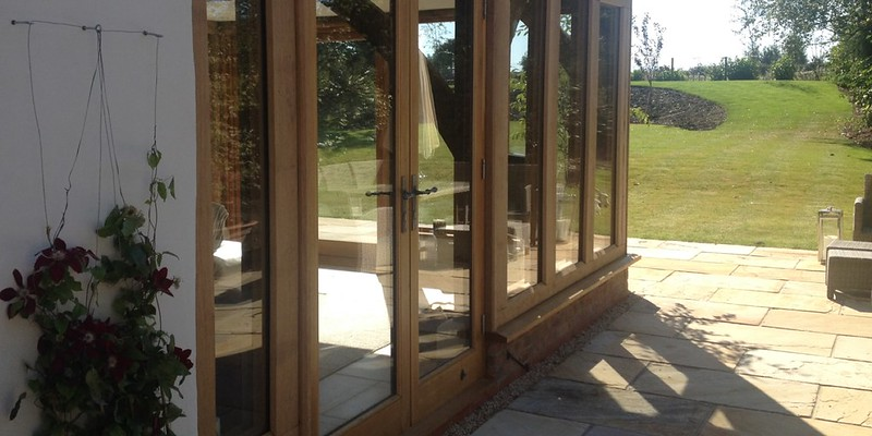 Timber Framer - Oak Glazing