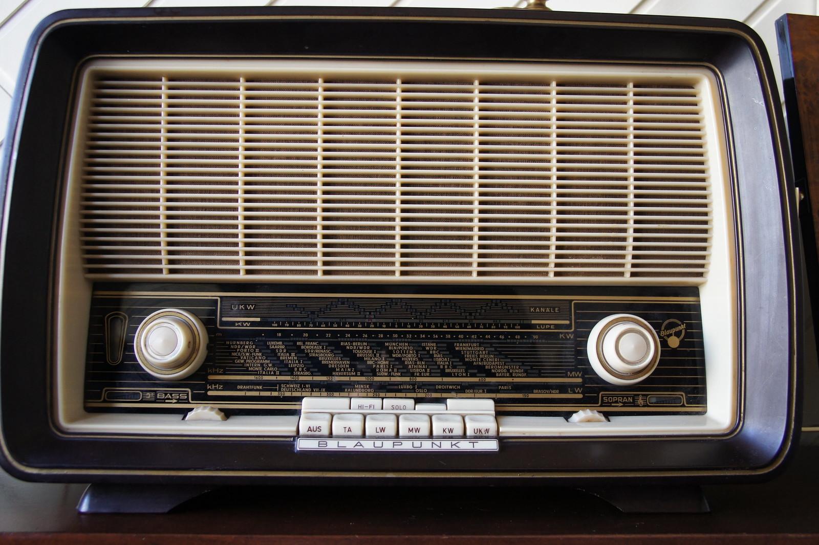 Radio Blaupunkt | by peetje2