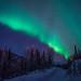 The Aurora over #chenasprings, outside of fairbanks ak