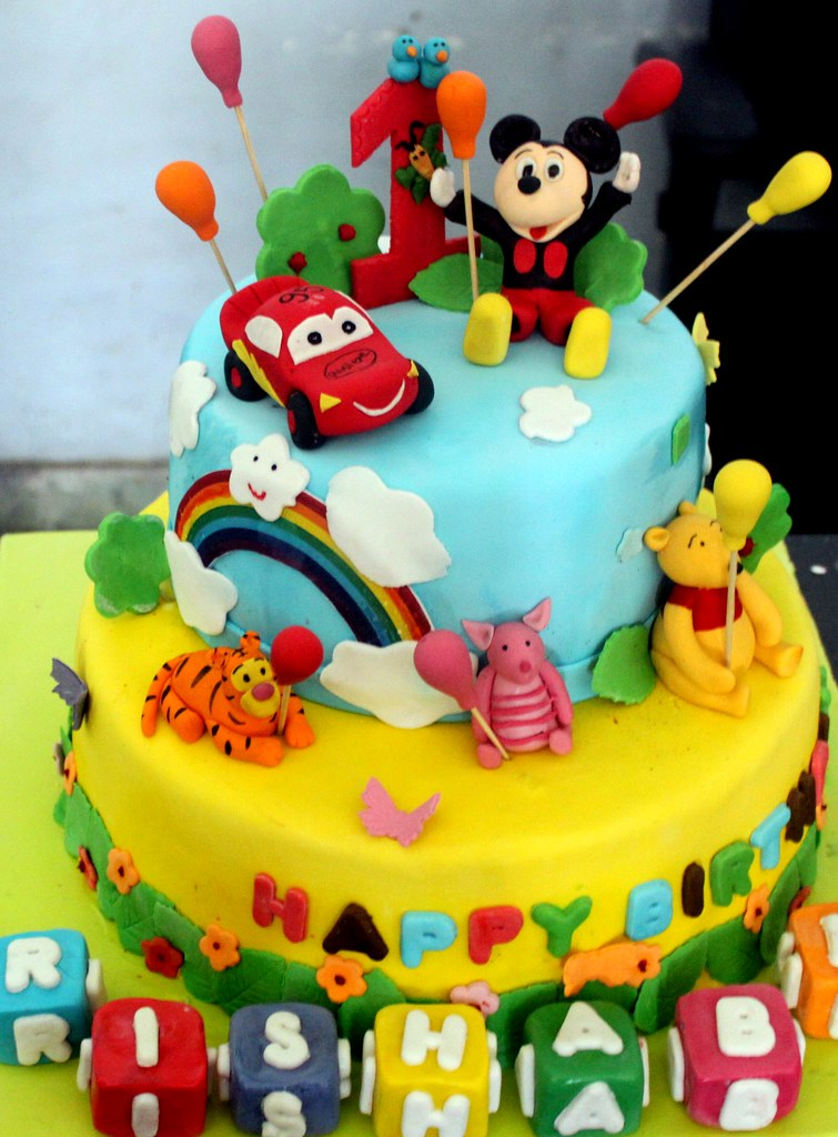 Birthday Cake Cartoon Images With Name