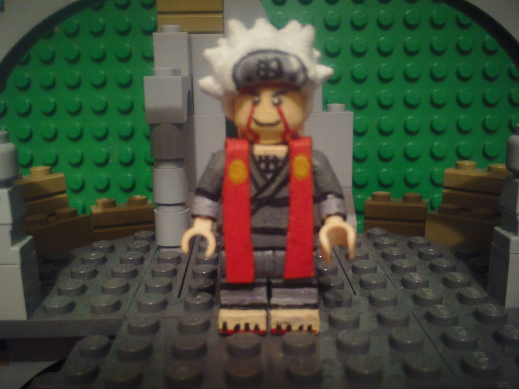 how to make lego naruto characters