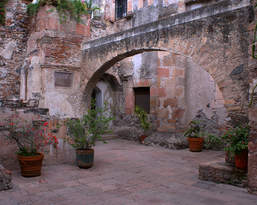 View Of One Of The Inner Patios Of