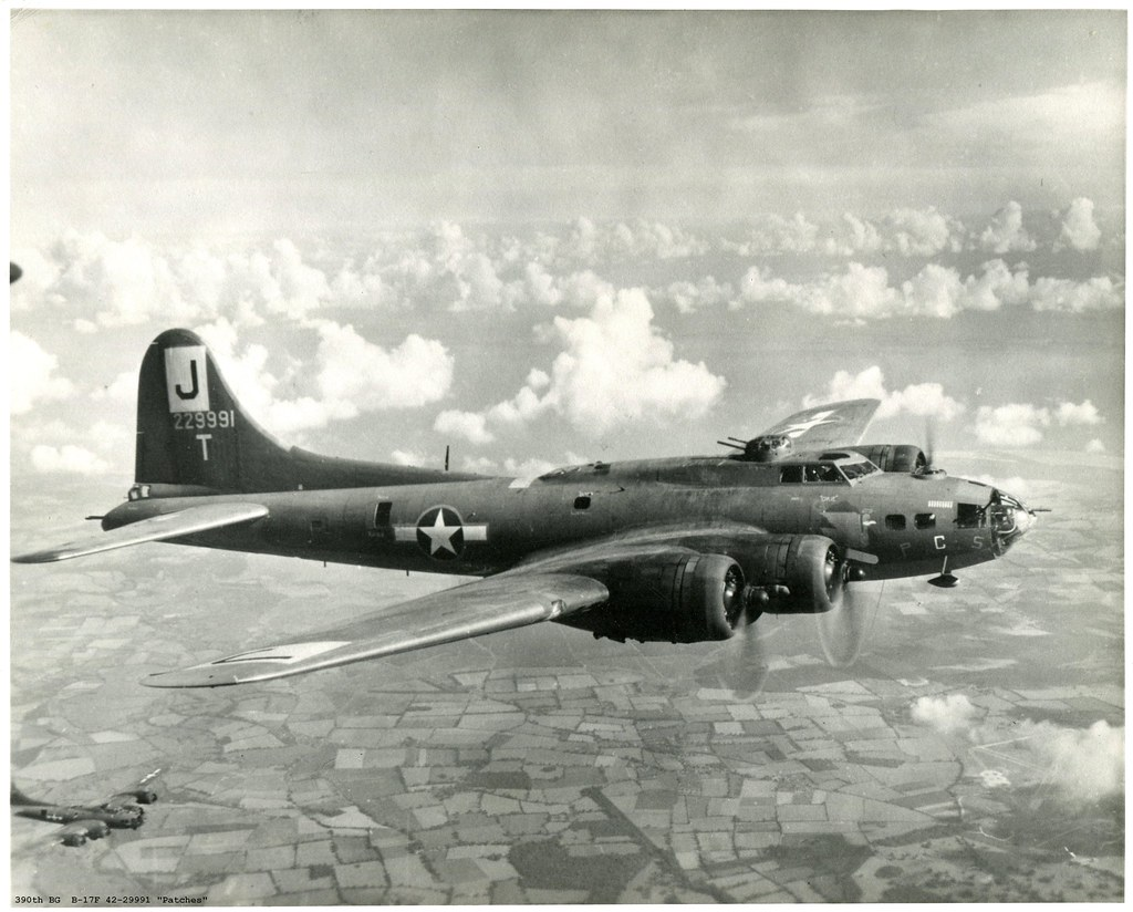 "Kg Near Me >> 390th BG (H) Boeing B-17F Flying Fortress 42-29991 ""Patche ..."