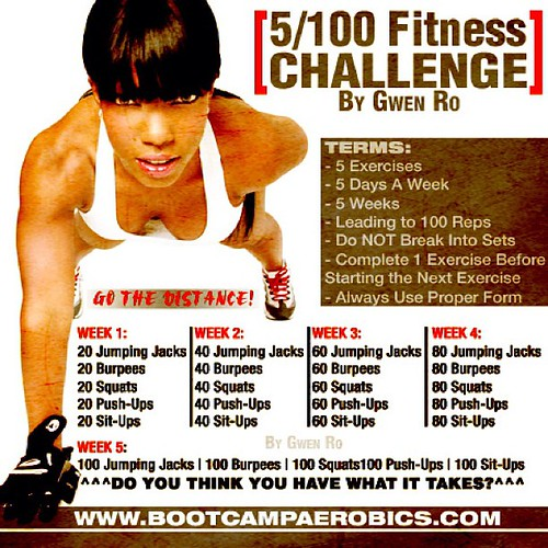 WHO'S UP FOR A FRIENDLY FITNESS CHALLENGE??? Rules of Enga ...