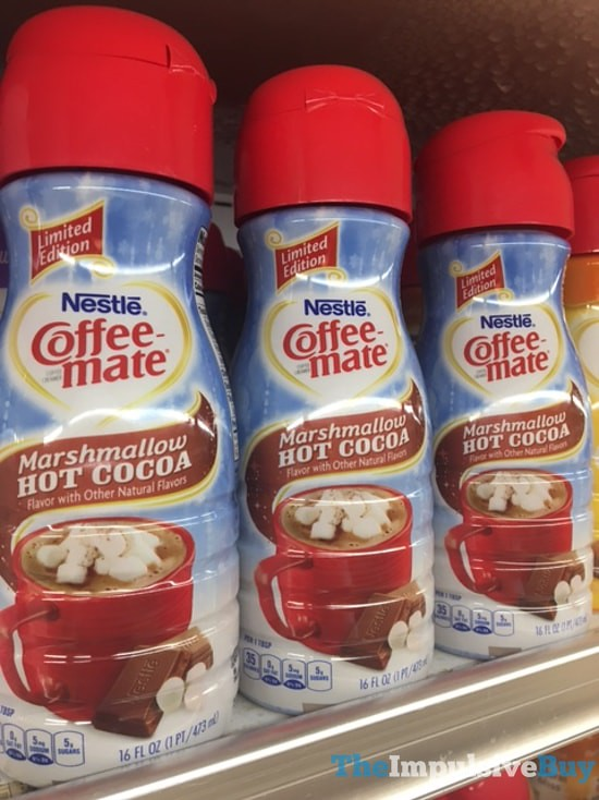 Limited Edition Nestle Coffee Mate Marshmallow Hot Cocoa C