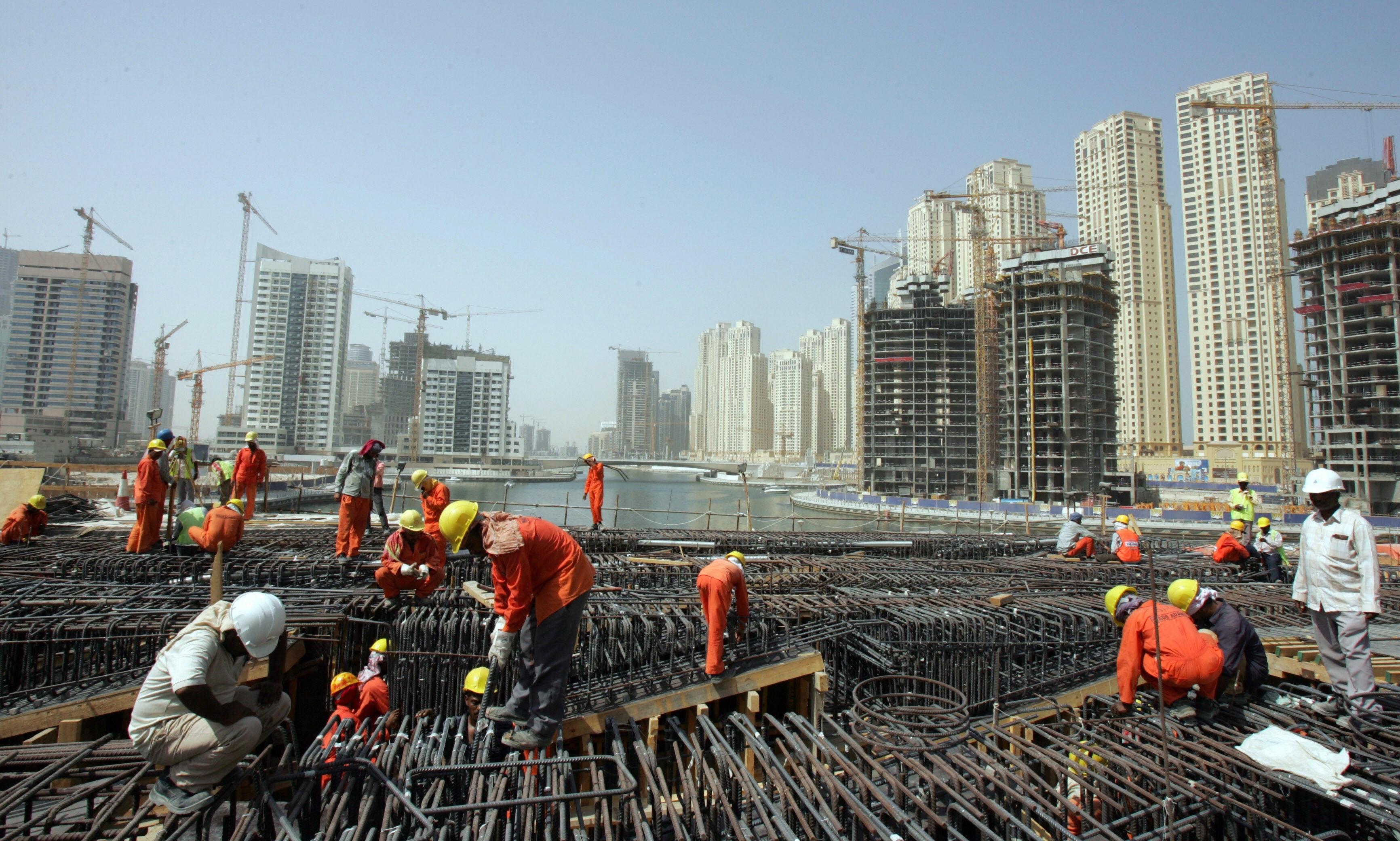 Image result for construction worker dubai