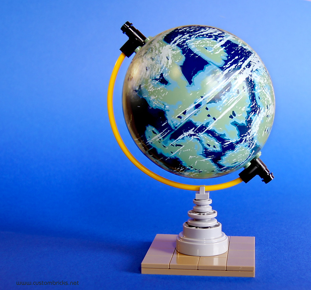 Naboo Tabletop Globe | Having some more fun with the earth l… | Flickr
