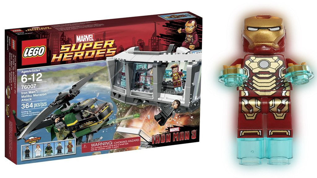 New 2013 lego iron man 3 marvel sets hd watch video here - Lego iron man 3 ...