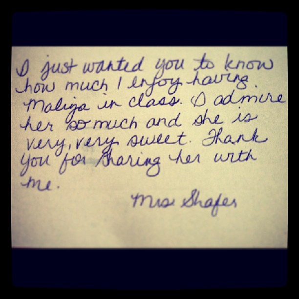 Sweet Letters From Students To Teachers