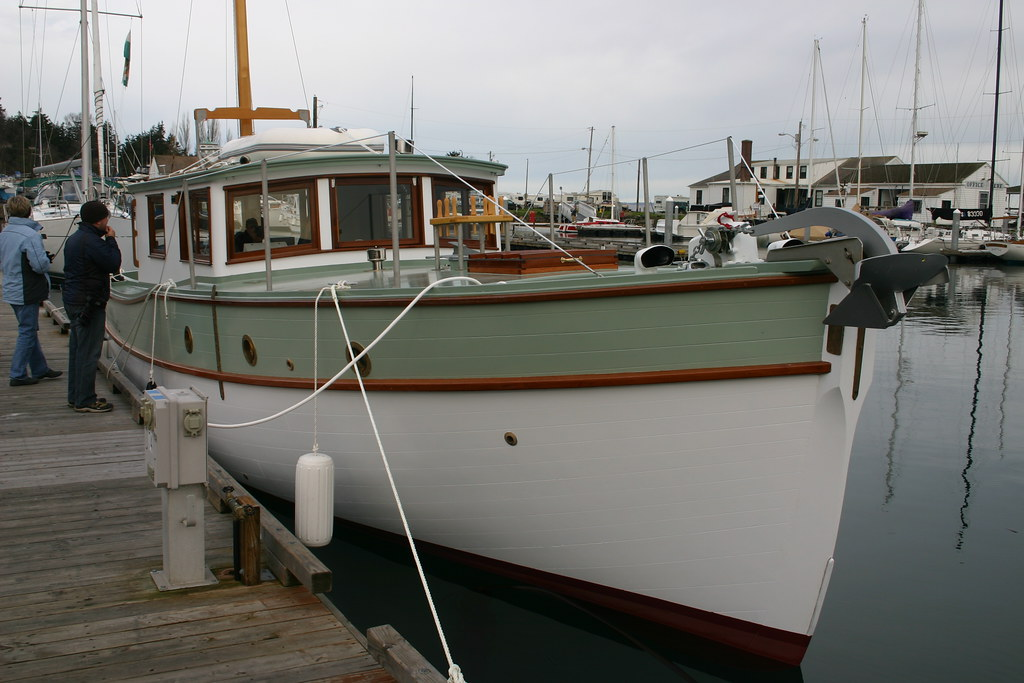 Port Townsend Wa Boat School Launches Motor Sailor Ama N Flickr