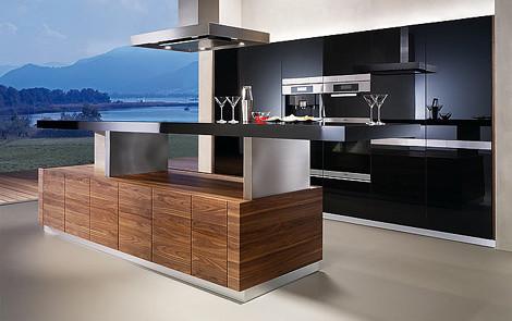 Cocina con isla moderna danieleralte flickr for Cocinas modernas con islas centrales
