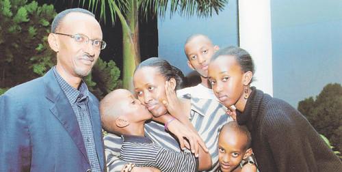 Ivan kagame wedding