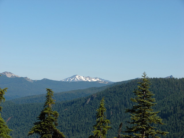 Sawtooth Mountain, Diamond Peak, and Cowhorn Mountain