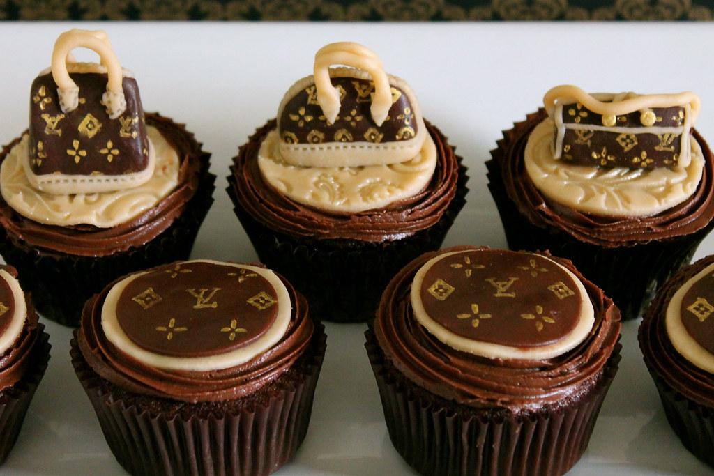Louis Vuitton Handbag Cupcakes Maryam Issadeen Flickr