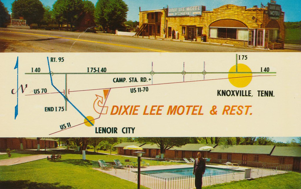 Dixie Lee Motel & Restaurant - Lenoir City, Tennessee