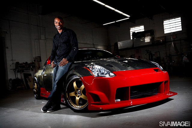 photo of Tyson Beckford Nissan 350Z - car