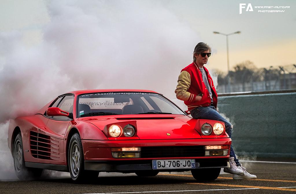 Ferrari Testarossa Kavinsky More Photos On Fast Auto