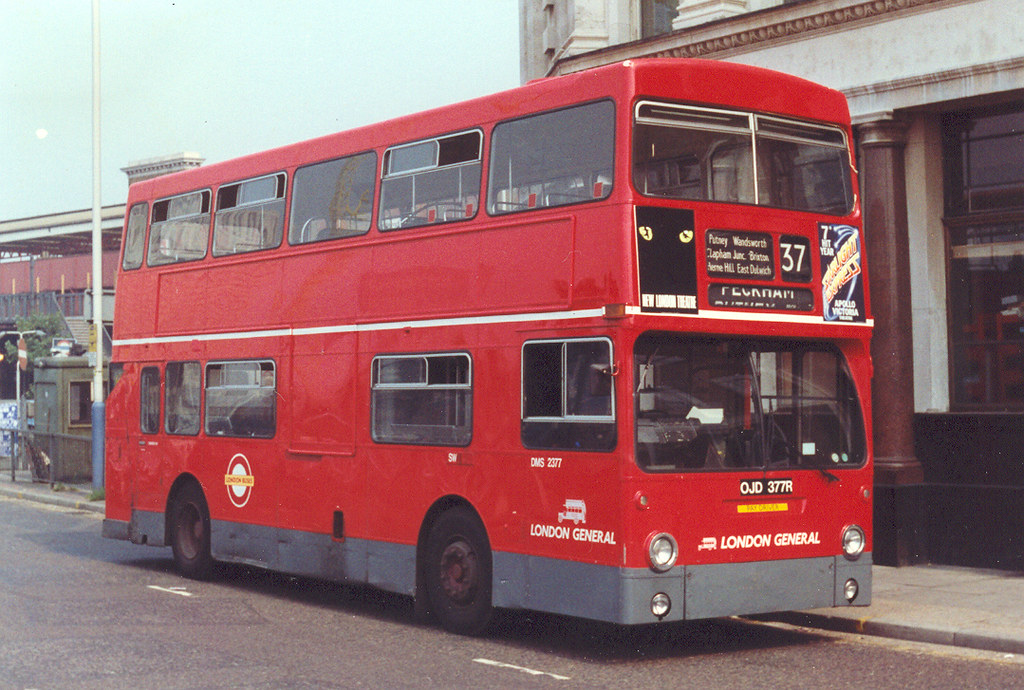 Stockwell Based Dms Two London Buses Garages Shared