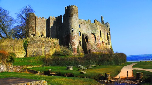 Laugharne Castle Wales #dailyshoot | by Leshaines123
