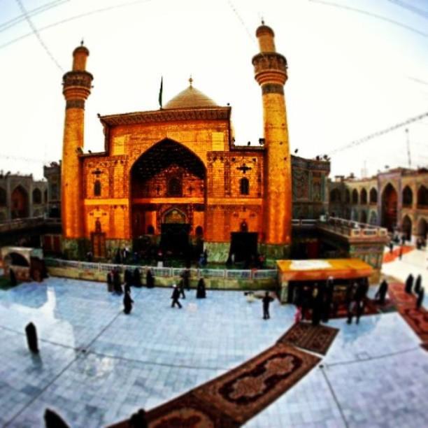 Maula Ali Shrine Wallpaper: Holy Shrine Imam Ali Ibn Abi Thaleb AS. #najaf #iraq