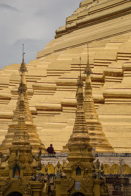 The Golden Domes of Yangon
