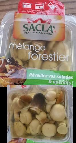 mélange forestier sacla