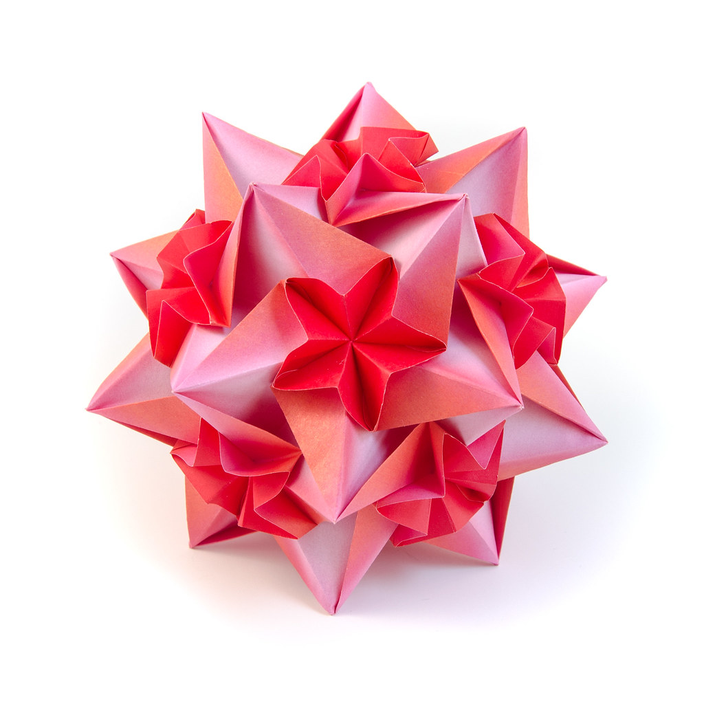 Calypso Origami Kusudama This One Is Very Easy And Very Flickr