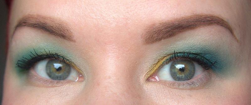 Inglot luomivärit värikäs meikki