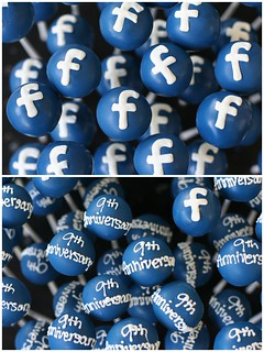 Happy Birthday Facebook! | by Sweet Lauren Cakes