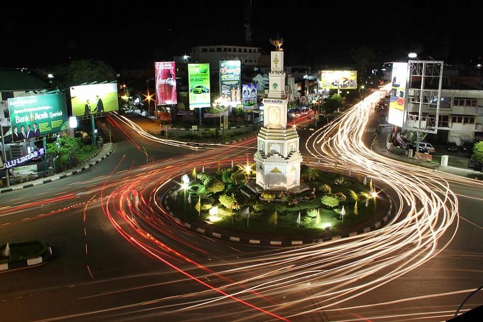 Bundaran Simpang Lima Banda Aceh