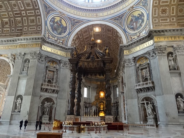 St. Peter's Basilica, interior | Flickr - Photo Sharing!