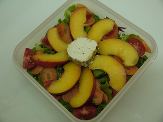 #444 - Nectarine and Chevin Salad | by Ni-Cola