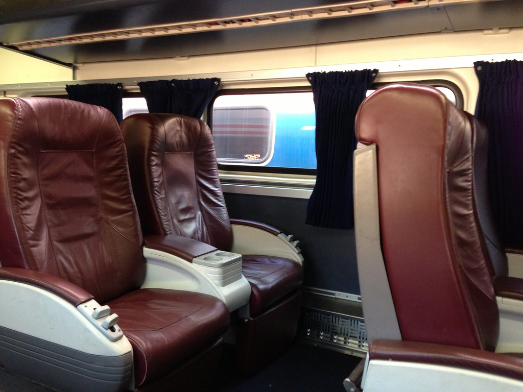 Amtrak Business Class Seating I Decided To Find Out What