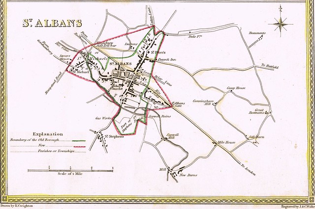 old maps of st albans Flickr
