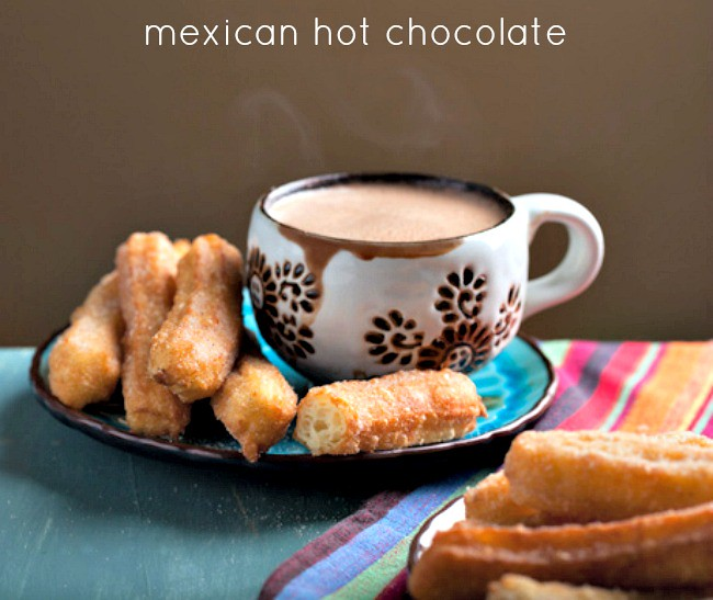 Mexican Hot Chocolate Molten Lava Cakes