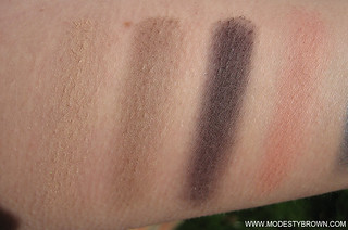 Chantecaille+Tigers+Swatches3 | by Modesty Brown