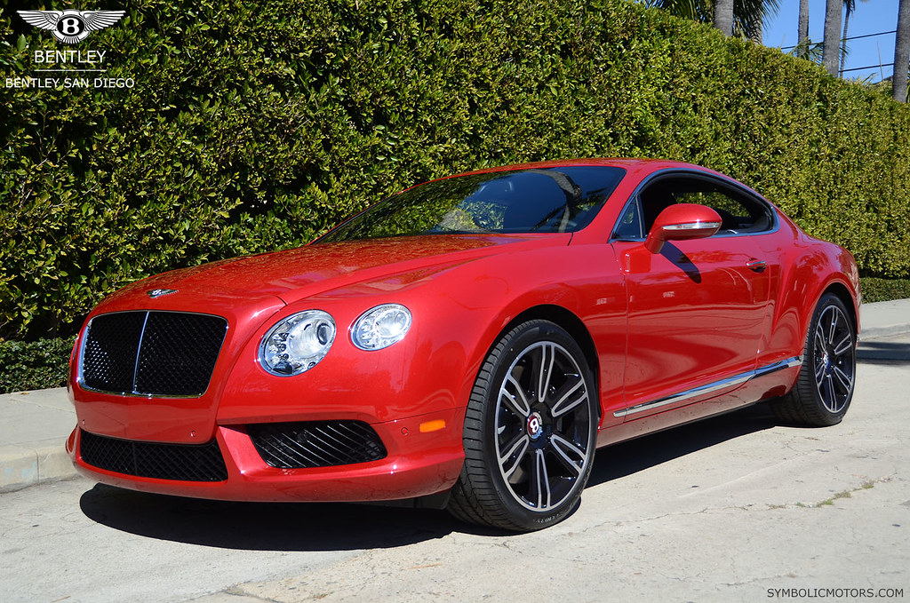 Dragon Red Bentley Gt V8 Coupe Only From Www Symbolicmotor Flickr