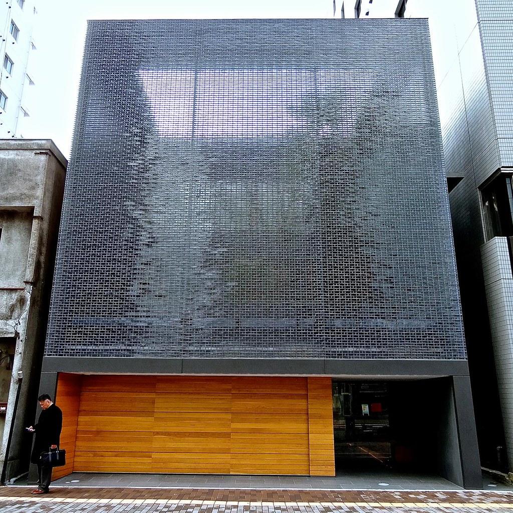 Optical glass house hiroshima japan hiroshi for Modern japanese house design by hiroshi nakamura