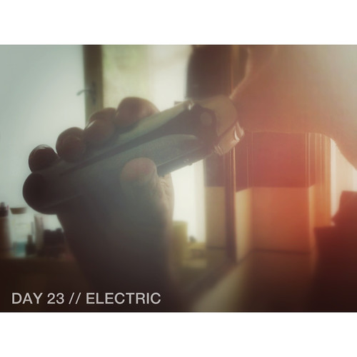 Day 23 // Electric | by 74 Lime Lane